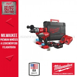 MILWAUKEE M18 ONEPP2B2-502X ONE-KEY™ ERŐCSOMAG (M18 ONEPD2 FUEL™ ONE-KEY™ ÜTVEFÚRÓ-CSAVAROZÓ + M18 ONEIWF12 ONE-KEY™ ½ ÜTVECSAVA