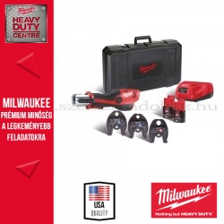 MILWAUKEE M12 HPT-202C V-KIT2 SZUPERKOMPAKT FORCE LOGIC™ HIDRAULIKUS PRÉS
