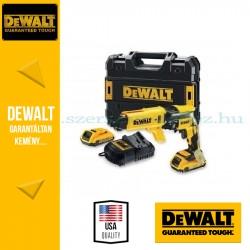 DEWALT DCF620P2K 18V-os Li-Ion kefe-nélküli 5.0Ah-s gipszkarton-csavarozó készlet\r\n