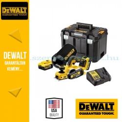 DEWALT DCP580P2 18V XR Gyalu 2 mm-es, akkumulátorral és töltővel\r\n