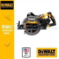 DEWALT DCS577N 54 V XR FLEXVOLT magas nyomatékú körfűrész alapgép