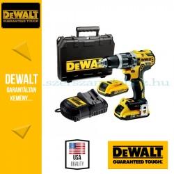 DEWALT DCD796D2F-QW Akkus Ütvefúró-csavarbehajtó ellenőrző lámpával