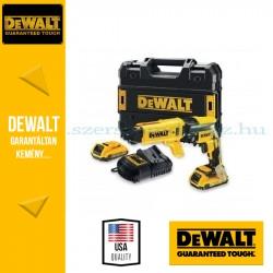 DEWALT DCF620P2K-QW 18V-os Li-Ion kefe-nélküli 5.0Ah-s gipszkarton-csavarozó készlet