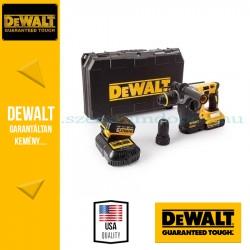 DEWALT DCH274P2-QW 18V-os XR Li-Ion kefe nélküli 3 üzemmódú fúrókalapács gyorstokmánnyal\r\n