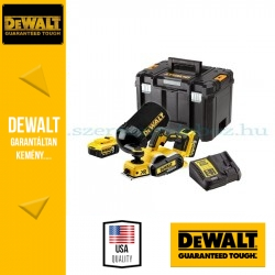 DEWALT DCP580P2-QW 18V XR Gyalu 2 mm-es, akkumulátorral és töltővel\r\n