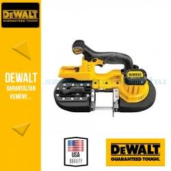 DEWALT DCS371N-XJ 18,0V-os XR Li-Ion kompakt szalagfűrész alapgép
