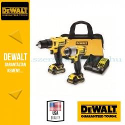 DEWALT DCK211C2-QW 10.8V XR DCD710 Fúró-csavarozó és DCF815 Ütvefúró-csavarozó
