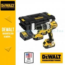 DEWALT DCD996P3K-QW 18V XR Li-Ion kefe nélküli prémium ütvefúró-csavarozó 3d 5.0Ah XR Li-Ion akkumulátor, kofferben