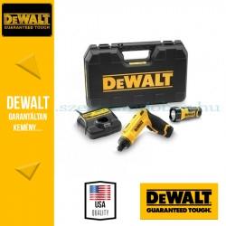 DEWALT DCF680G2F-QW mozgás aktivált akkus csavarozó + lámpa
