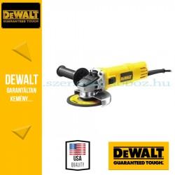 DEWALT DWE4016-QS Sarokcsiszoló Ø115mm 730W áramkimaradás kapcsolóval