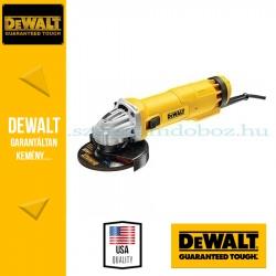 DEWALT DWE4207K-QS Sarokcsiszoló Ø125mm 110W áramkimaradás kapcsolóval