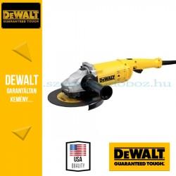DEWALT DWE494-QS 2200W-os 230mm Lágyindítású sarokcsiszoló\r\n