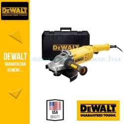 DEWALT DWE492K-QS 2200W-os 230mm sarokcsiszoló kofferrel