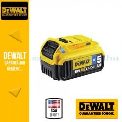 DEWALT DCB184B-XJ 18V 5Ah XR Li-Ion Tool Connect Bluetooth Akkumulátor\r\n