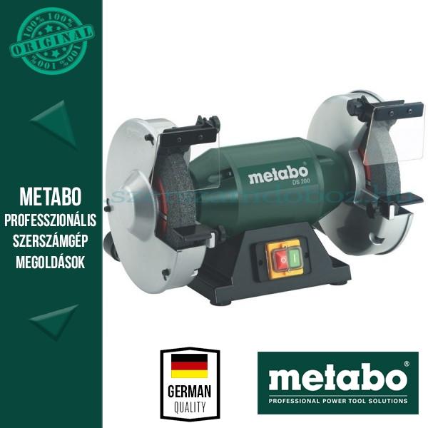Metabo DS 200 Kettős köszörű