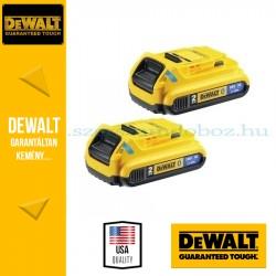 DEWALT DCB283B-XJ  2 x DCB183B 18V XR 2.0Ah Bluetooth akkumulátor