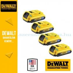 DEWALT DCB483B-XJ Bluetooth akkumuláor pack 4db-os 18V 2,0Ah