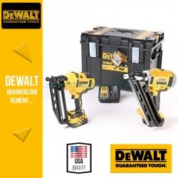 DEWALT DCK264P2-QW 18V XR 2 gépes Szögező Combopack DCN692 kefe nélküli 2 sebességes állványszögező + DCN660  kefe nélküli 16Ga