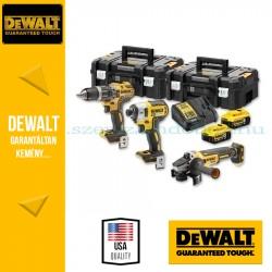 DEWALT DCK384P2T-QW 18V XR Combo KIT (DCD 796 kefe nélküli kompakt ütvefúró-csavarozó + DCF887 kefe nélküli 3 sebességes ütvecsa