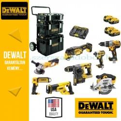DEWALT DCK897P4-QW 18V XR Combo Kit 7 gépes akkus csomag + lámpa