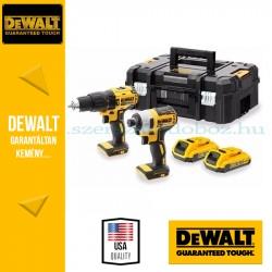 """DEWALT DCK2060D2T-QW 18V XR Combo KIT (DCD778 fúrócsavarozó + DCF787 1/4""""  Ütvecsavarozó)"""