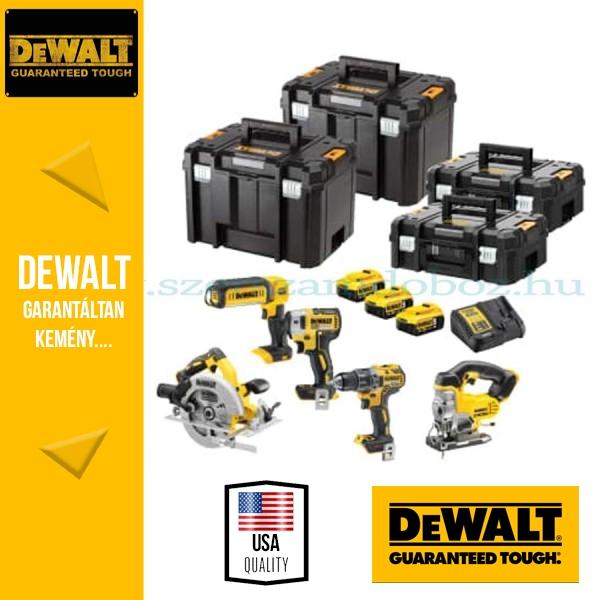 DEWALT DCK523P3T-QW 18V XR Combo KIT 4 gépes akkus csomag + lámpa