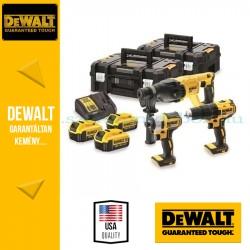 DEWALT DCK372M3T-QW 18V XR Combo KIT 3 gépes akkus csomag