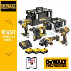 DEWALT DCK422P3-QW 18V XR Combo KIT 4 gépes akkus csomag