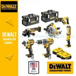DEWALT DCK623P3-QW 18V XR Combo KIT 5 gépes akkus csomag + lámpa