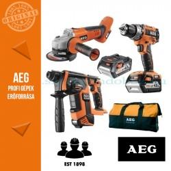 AEG 4935AKKU18BL 18 V 3 gépes akkus erőcsomag