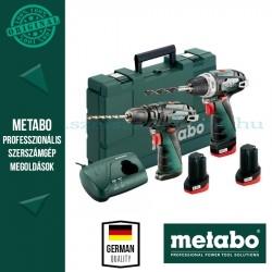 Metabo Powermaxx BS Basic fúrócsavarozó + PowerMaxx SB Ütvefúró szett