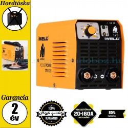 IWELD GORILLA POCKET POWER 170 Hegesztő inverter koffer nélkül