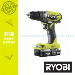 Ryobi R18DD2-113G One Plus 18 V nagyteljesítményű kétsebességes ütvefúró-csavarozó