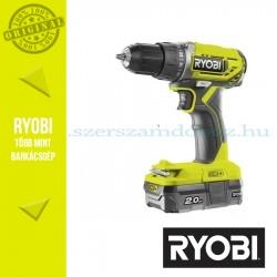Ryobi R18DD2-120S One Plus 18 V nagyteljesítményű kétsebességes ütvefúró-csavarozó