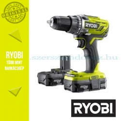 Ryobi R18DD3-213S One Plus 18 V nagyteljesítményű fúrócsavarozó