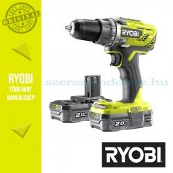 Ryobi R18DD3-220S One Plus 18 V nagyteljesítményű fúrócsavarozó