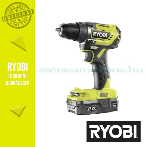 Ryobi R18DD5-220S One Plus 18 V szénkefe nélküli fúrócsavarozó