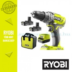 Ryobi R18DDBL-220S One Plus 18 V szénkefe nélküli fúrócsavarozó