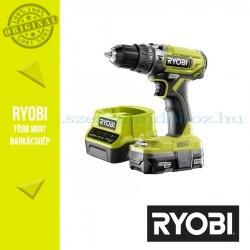 Ryobi R18PD2-113S One Plus 18 V nagyteljesítményű kétsebességes ütvefúró-csavarozó