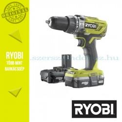 Ryobi R18PD3-213G One Plus 18 V nagyteljesítményű ütvefúró-csavarozó