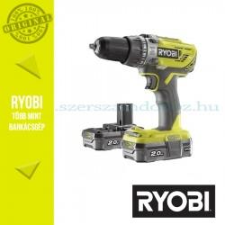 Ryobi R18PD3-220S One Plus 18 V nagyteljesítményű ütvefúró-csavarozó