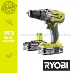 Ryobi R18PD3-225S One Plus 18 V nagyteljesítményű ütvefúró-csavarozó