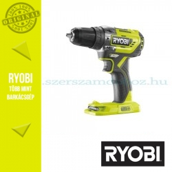 Ryobi R18PD5-0 One Plus 18 V szénkefe nélküli nagyteljesítményű kompakt ütvefúró-csavarozó alapgép