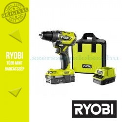 Ryobi R18PD5-120S One Plus 18 V szénkefe nélküli nagyteljesítményű kompakt ütvefúró-csavarozó