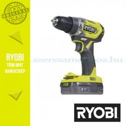 Ryobi R18PD5-220S One Plus 18 V szénkefe nélküli nagyteljesítményű kompakt ütvefúró-csavarozó