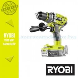 Ryobi R18PD7-220B One Plus 18 V szénkefe nélküli nagyteljesítményű kompakt ütvefúró-csavarozó