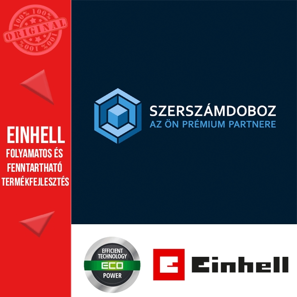Einhell TE-CD 18 Li Solo fúró-csavarozó alapgép