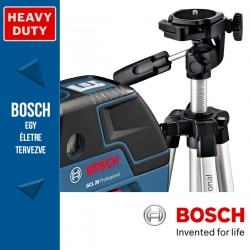 Bosch GCL 25 Professional Pont-vonallézer + BS 150