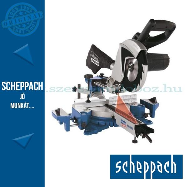 Scheppach HM 100 MP gérvágó fűrész húzófunkcióval és lézerrel