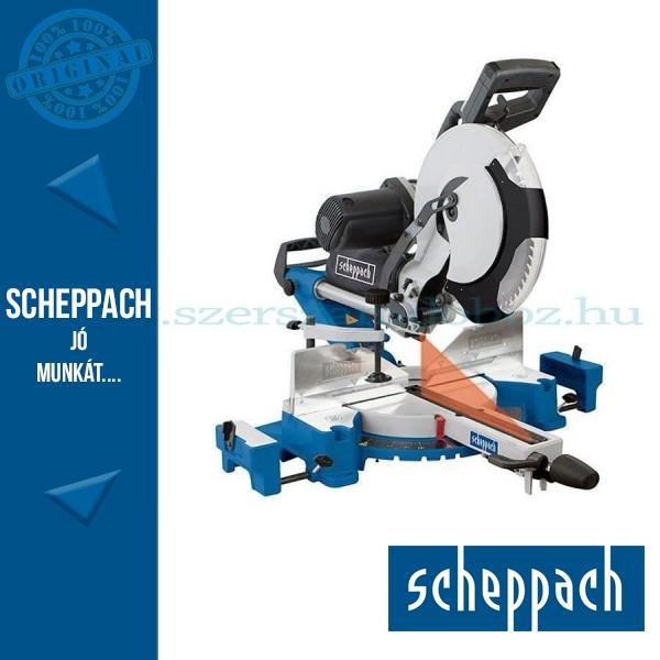 Scheppach HM 120 L két oldalra dönthető gérvágó fűrész